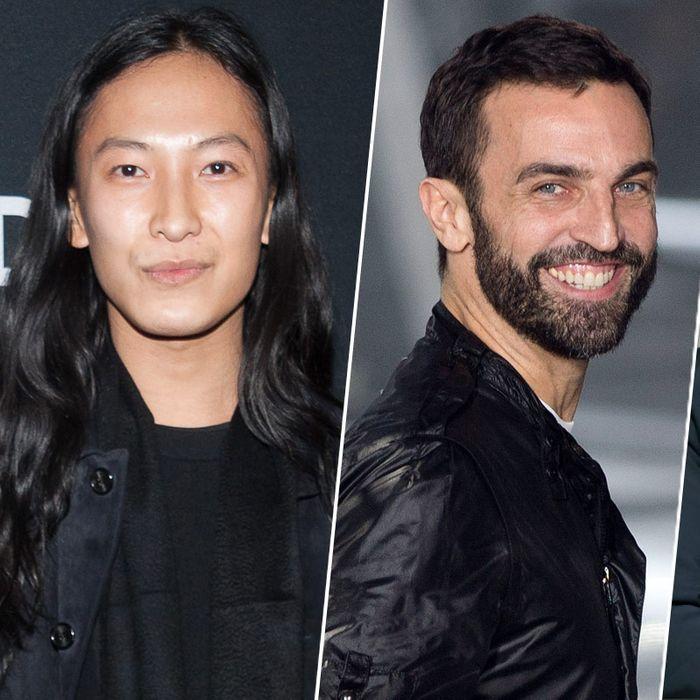 Alexander Wang; Nicolas Ghesquière; Alber Elbaz