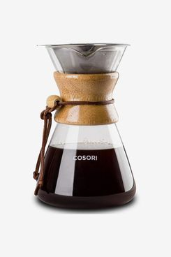 COSORI Pour-Over Coffee Maker With Double-Layer Stainless-Steel Filter