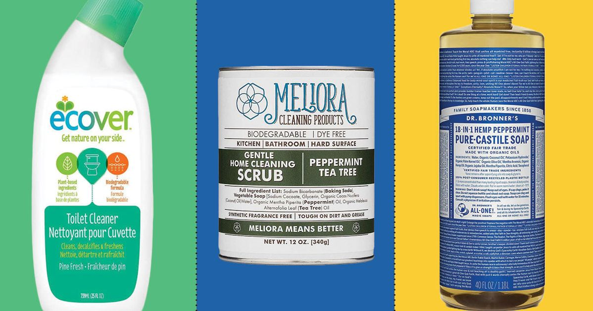 The Best Natural Cleaning Products, According to Experts