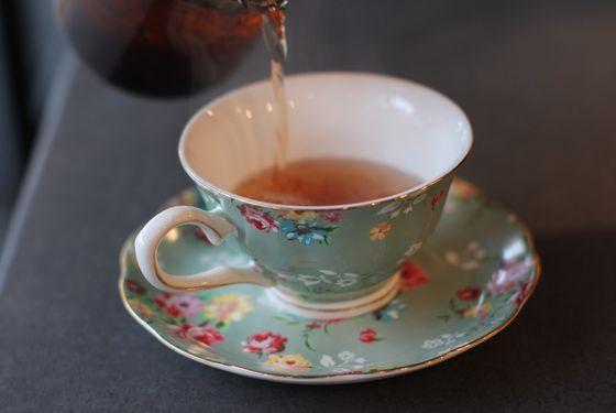 Stylish teacups.