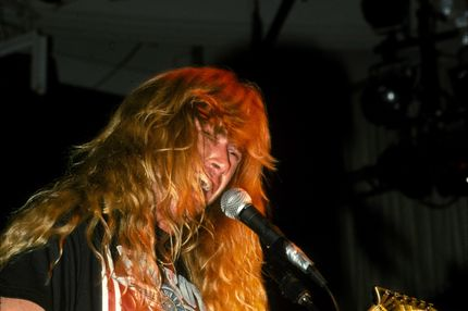 Dave Mustaine Megadeth 1990's File Photo .
