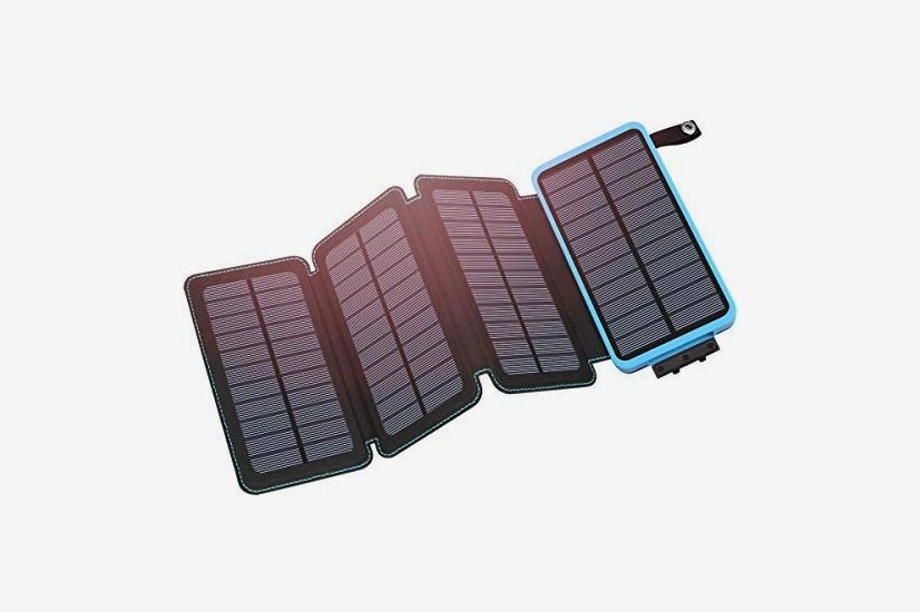 Hiluckey Solar Charger 25000mAh Portable Solar Power Bank