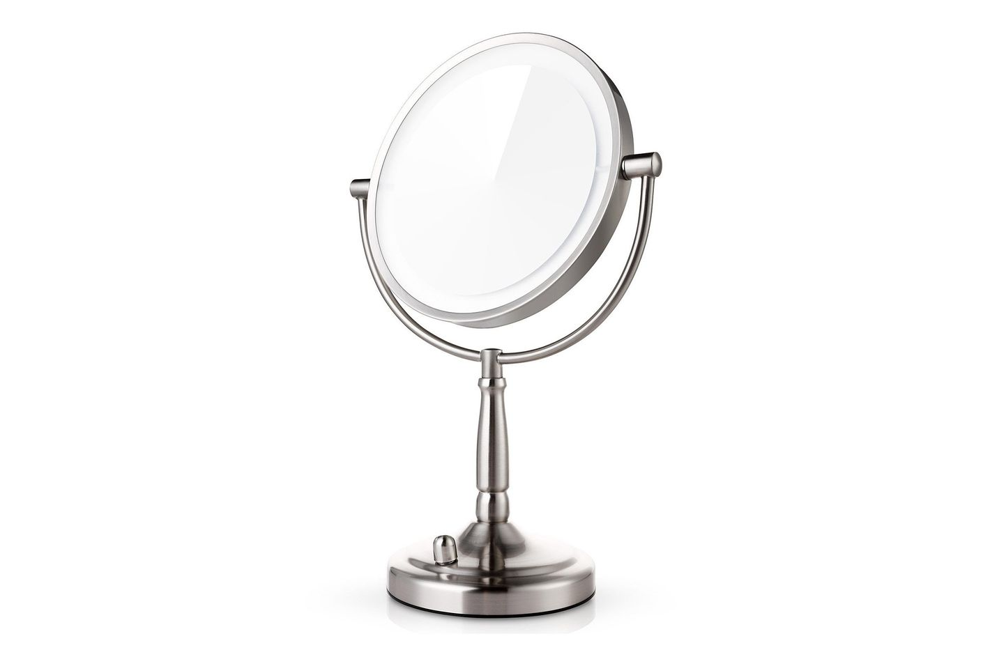 Captivating Miusco 7x Magnifying Lighted Makeup Mirror