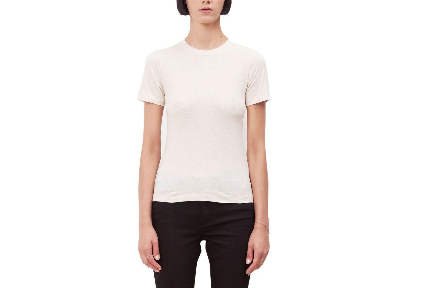 Acne Studios Beige Crewneck T-shirt