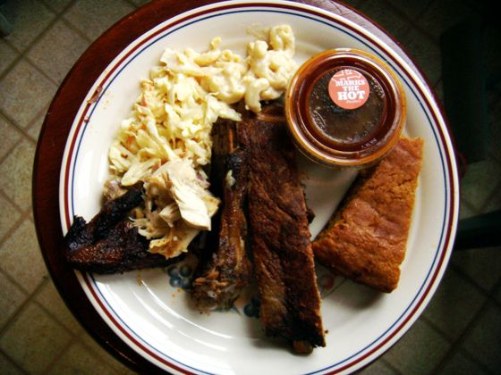 "<a href=""http://www.phoebesbbq.com"">Phoebe's Bar-B-Q</a><br><i>2214 South St.; 215-546-4811</i><br>For nearly two decades, Phoebe's on South Street's west side (and more recently its second location in Roxborough), has consistently served rave-worthy chicken, brisket, baby backs, and pit meats, but it's only the gargantuan beef ribs that properly satisfy your most primal hankerings. The brontosaurus-size big bones are slow-cooked to perfection, and each bite bursts with juicy, smoky beef flavor. <br>"
