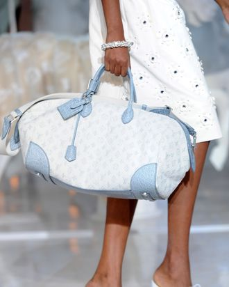 Louis Vuitton's spring 2012 collection.
