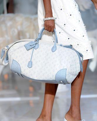 Louis Vuitton's spring 2012 collection.