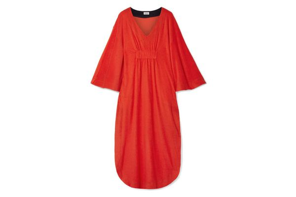 SPLENDID + Margherita Capri cotton and modal-blend terry dress