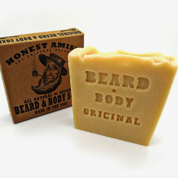 Honest Amish Original Beard and Body Soap