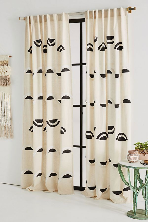 Embroidered Bailey Curtain
