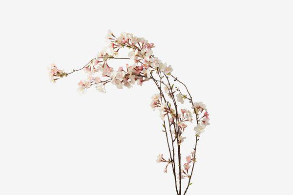 Terrain Faux-Cherry Blossom Spray