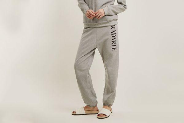 Rodarte Logo-Print Cotton-Blend Track Pants