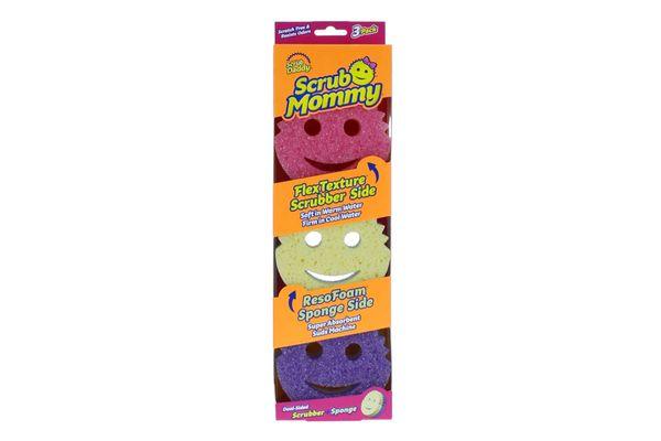 Scrub Daddy 3-Count Scrub Mommy Sponges