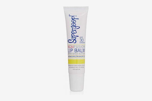 Supergoop! Fusion Lip Balm SPF 30, Açai