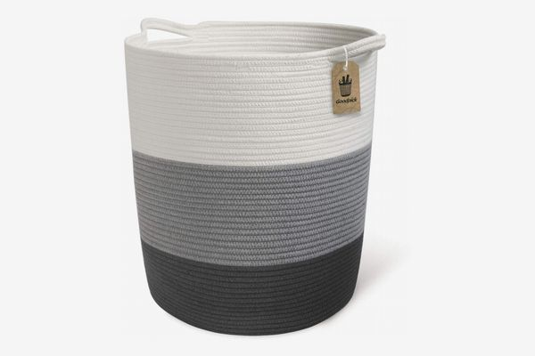Goodpick Extra-Large Cotton Rope Basket