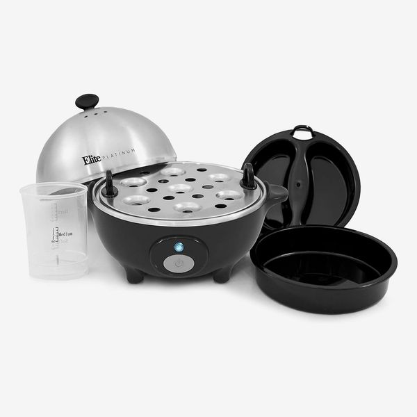 Maxi-Matic Stainless Steel Easy Electric Egg Poacher