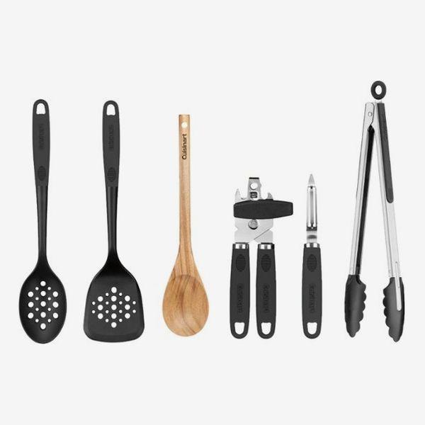Cuisinart 6 PC Tool and Gadget Set Indoor Cooking - Black