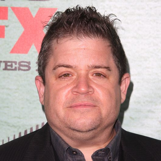 "HOLLYWOOD, CA - JANUARY 05:  Patton Oswalt attends the FX's ""Justified"" season 4 premiere held at Paramount Theater on the Paramount Studios lot on January 5, 2013 in Hollywood, California.  (Photo by Tommaso Boddi/WireImage)"
