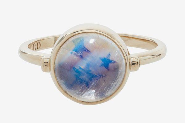 Leith Clark x Catbird Secret Star Moonstone Ring