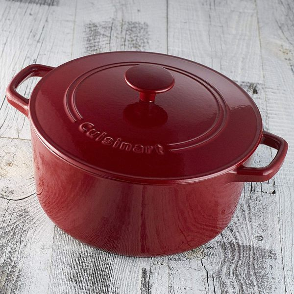 Cuisinart Chef's Classic Enameled Cast Iron 5-Quart Round Covered Casserole