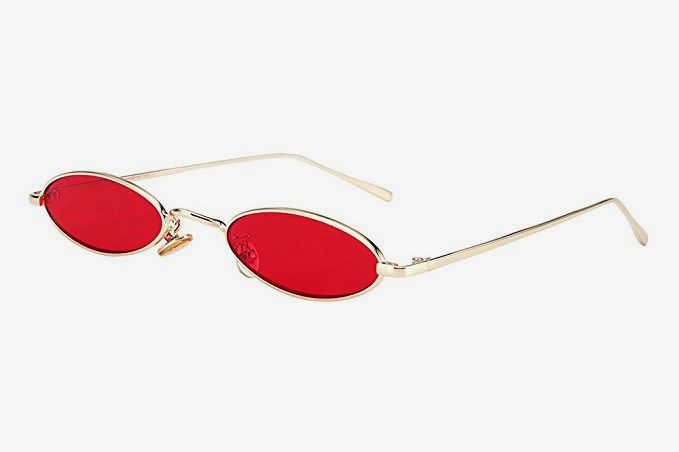 Royal Girl Vintage Oval Sunglasses