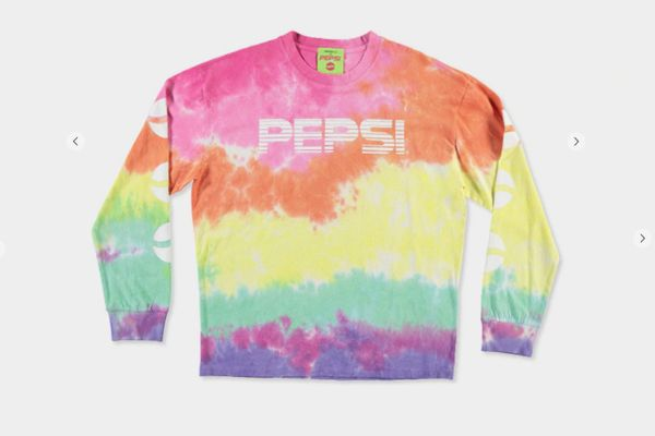 Forever 21 Men's Pepsi Tie-Dye Tee