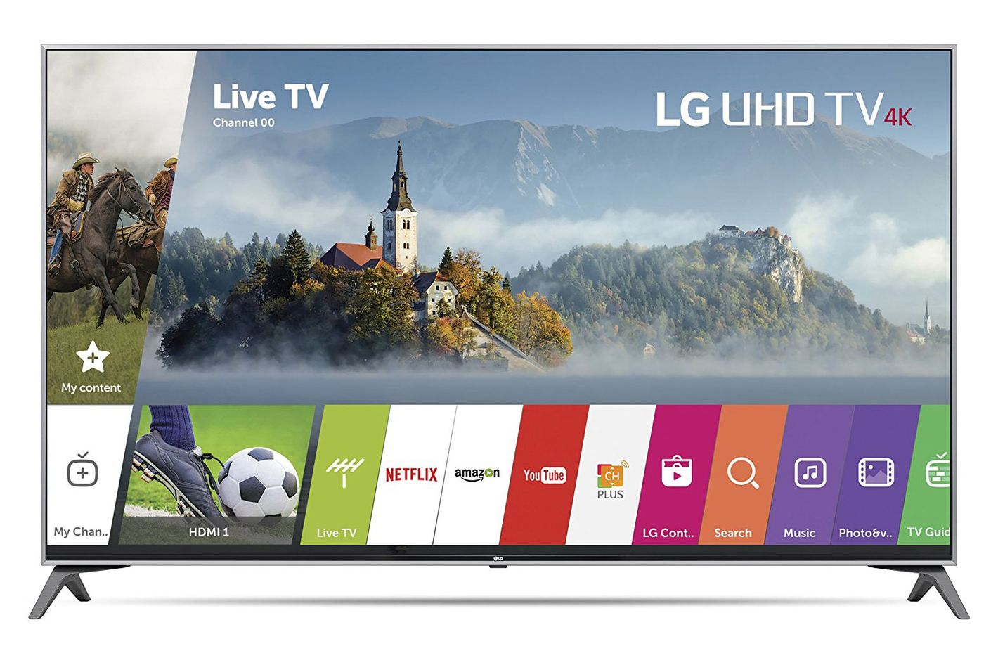 LG Electronics 60-inch 4K Ultra High-Definition Smart TV