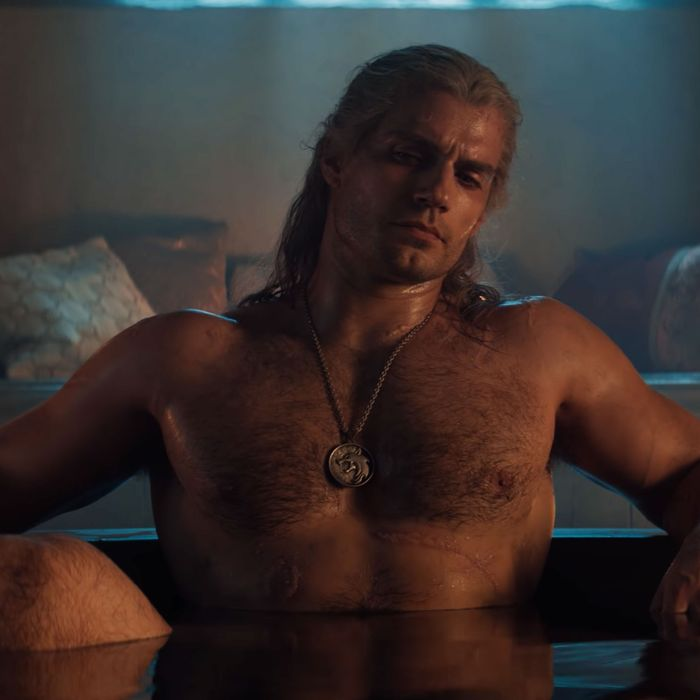 Henry Cavill as Geralt in The Witcher.