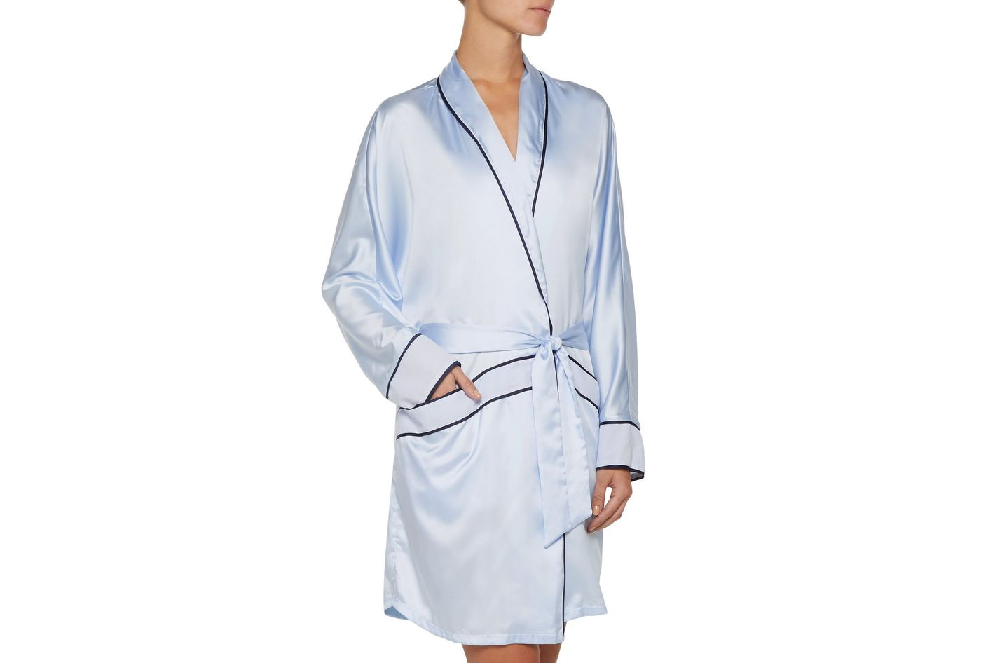 Cosabella Sophisticated Satin Robe