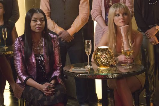 "EMPIRE: Pictured L-R: Taraji P. Henson and Kaitlin Doubleday in the ""The Lyon Who Cried Wolf"" episode of EMPIRE airing Wednesday, May 4 (9:00-10:00 PM ET/PT) on FOX. ©2016 Fox Broadcasting Co. CR: Chuck Hodes/FOX"