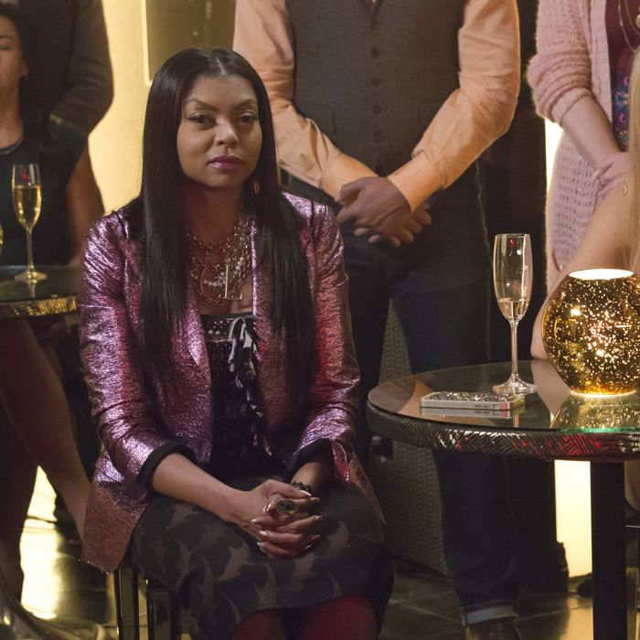 EMPIRE: Pictured L-R: Taraji P. Henson and Kaitlin Doubleday in the