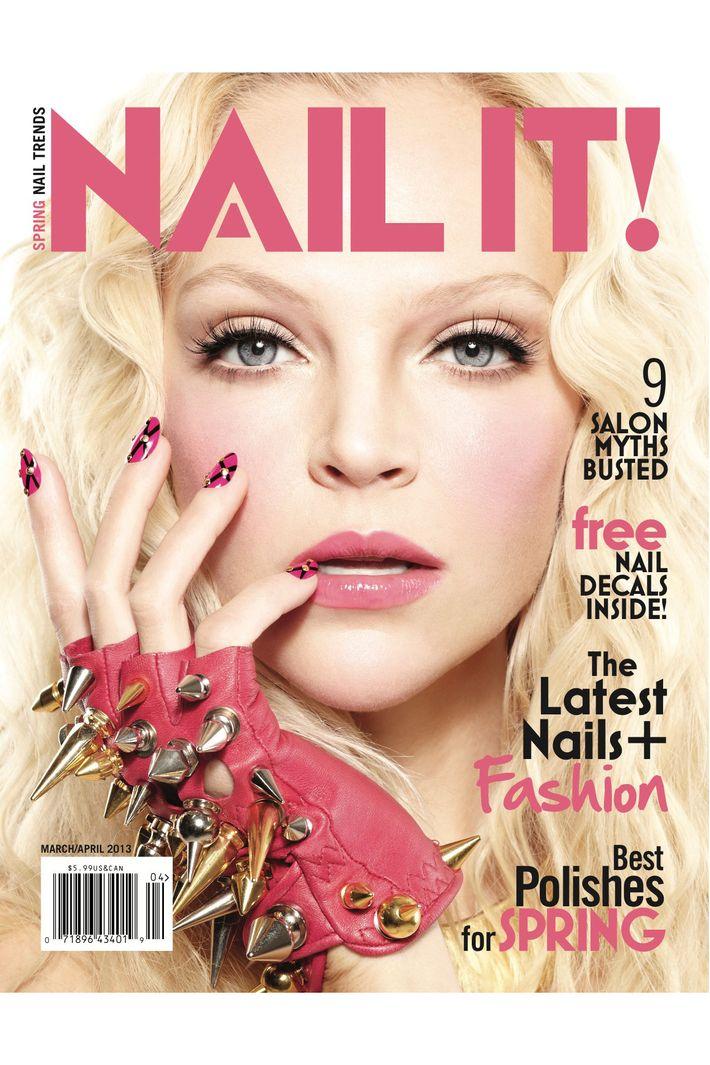 Old Fashioned Nail Art Magazine Uk Image Collection - Nail Art ...