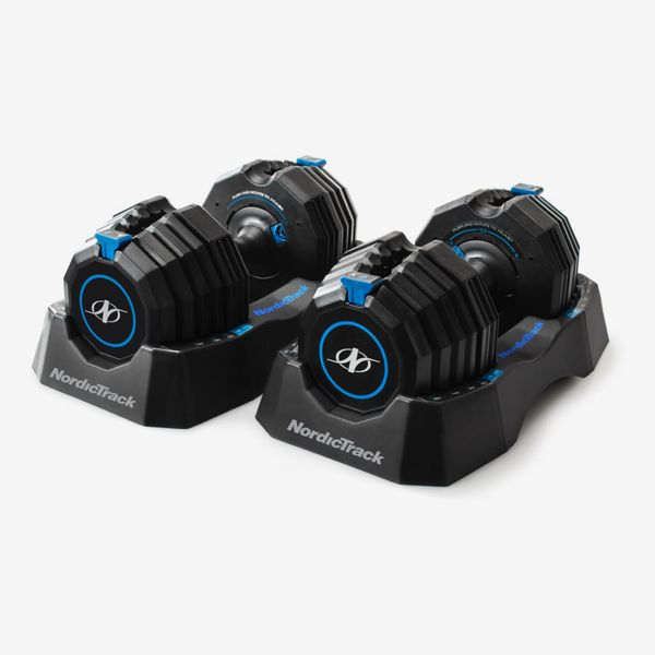NordicTrack Select-A-Weight 55 Lb. Dumbbell Set