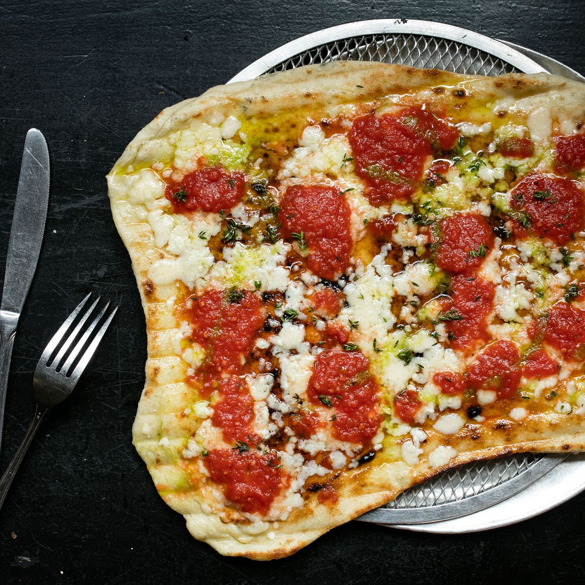 Team Emily Tackles Rhode Island Style Grilled Pizza In Nyc
