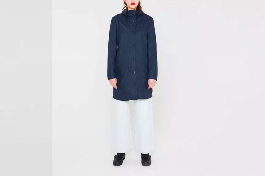 Hunter Women's Original Light Rubberized Coat