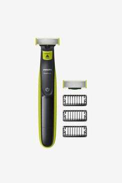Philips OneBlade Hybrid Stubble Trimmer and Shaver with 3 x Lengths and One Extra Blade