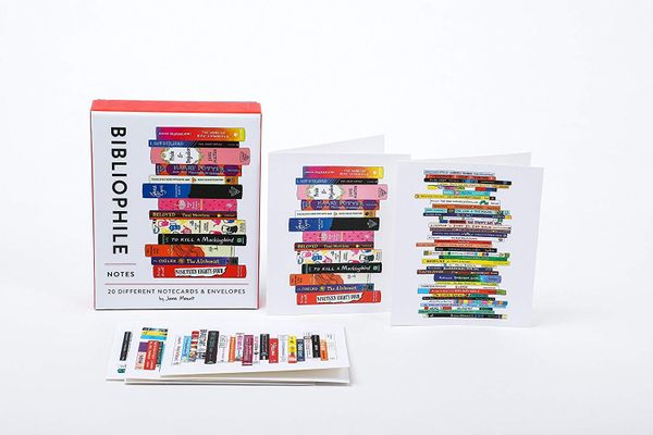 Bibliophile Notes: 20 Different Notecards