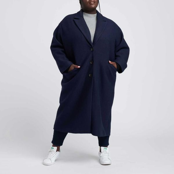 Willow Wool Cocoon Coat