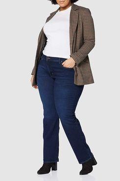 Levi's Plus Size Women's Pl 501 Crop Straight Jeans