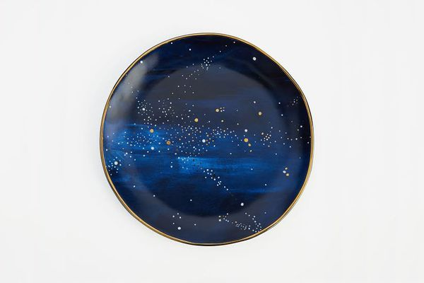 West Elm Constellation Salad Plate