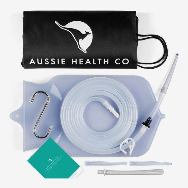 Aussie Health Co Non-Toxic Silicone Enema Bag Kit