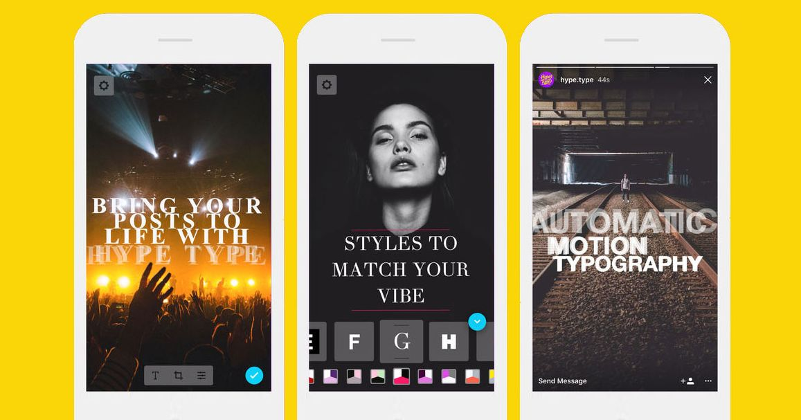 How To Use Hype Type Captions With Instagram Stories