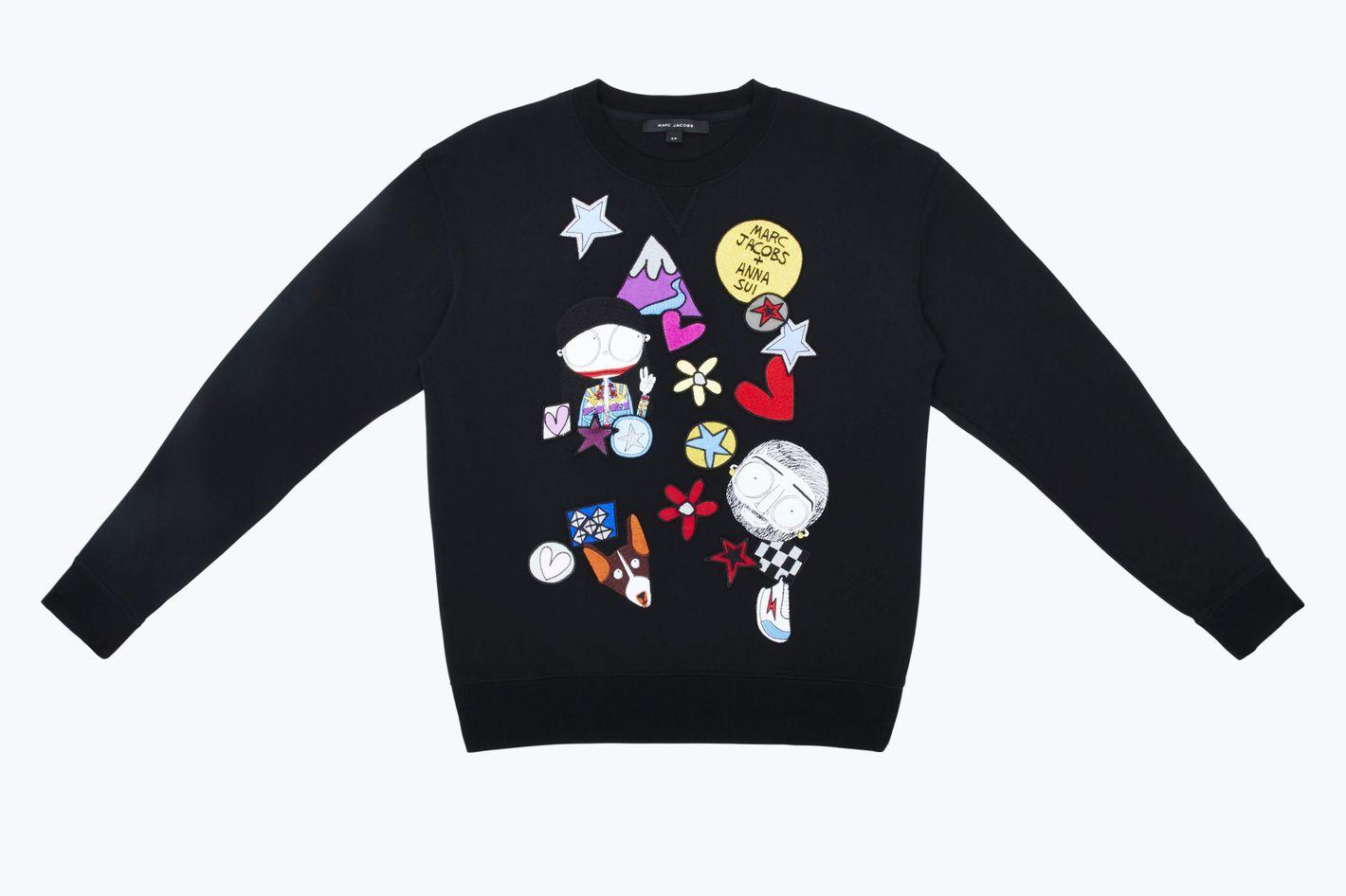 Marc & Anna Embroidered Sweatshirt