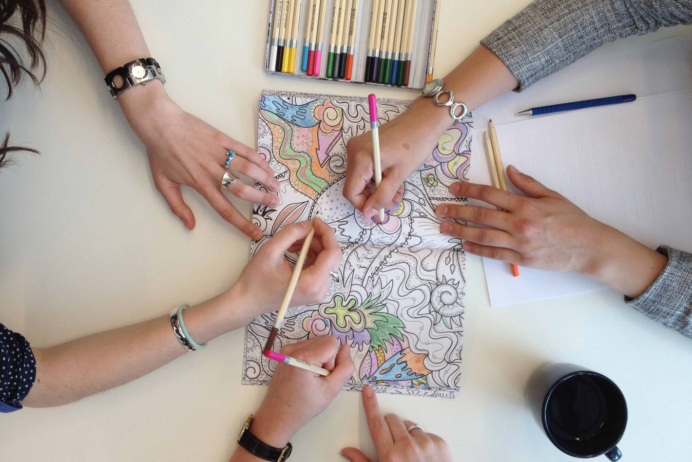 A Neuroscientist Patiently Explains The Allure Of Adult Coloring Book