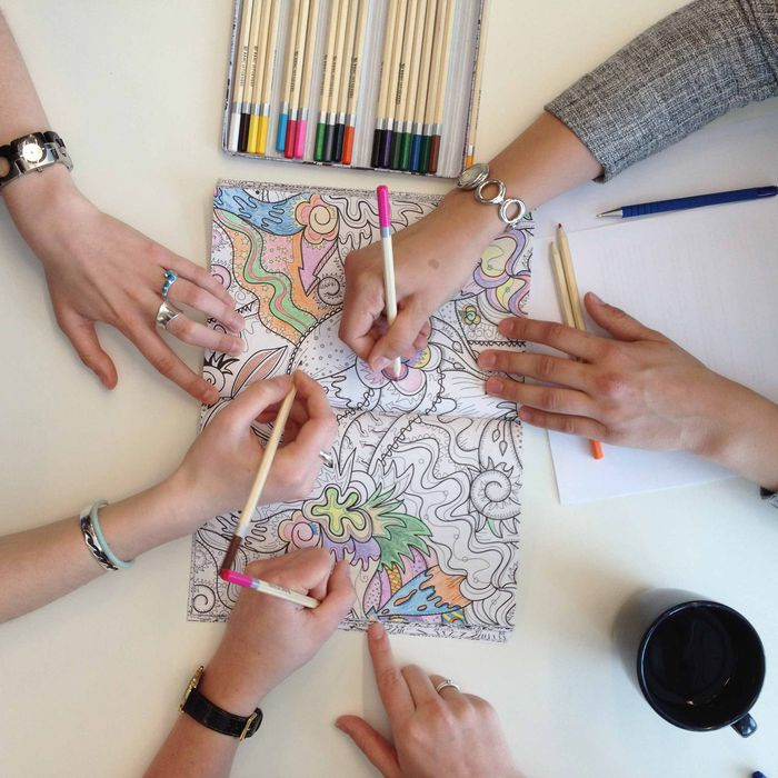 A Neuroscientist Patiently Explains The Allure Of The Adult Coloring Book