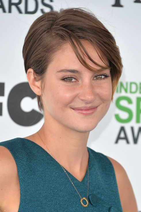 Actress Shailene Woodley attends the 2014 Film Independent Spirit Awards at Santa Monica Beach on March 1, 2014 in Santa Monica, California.