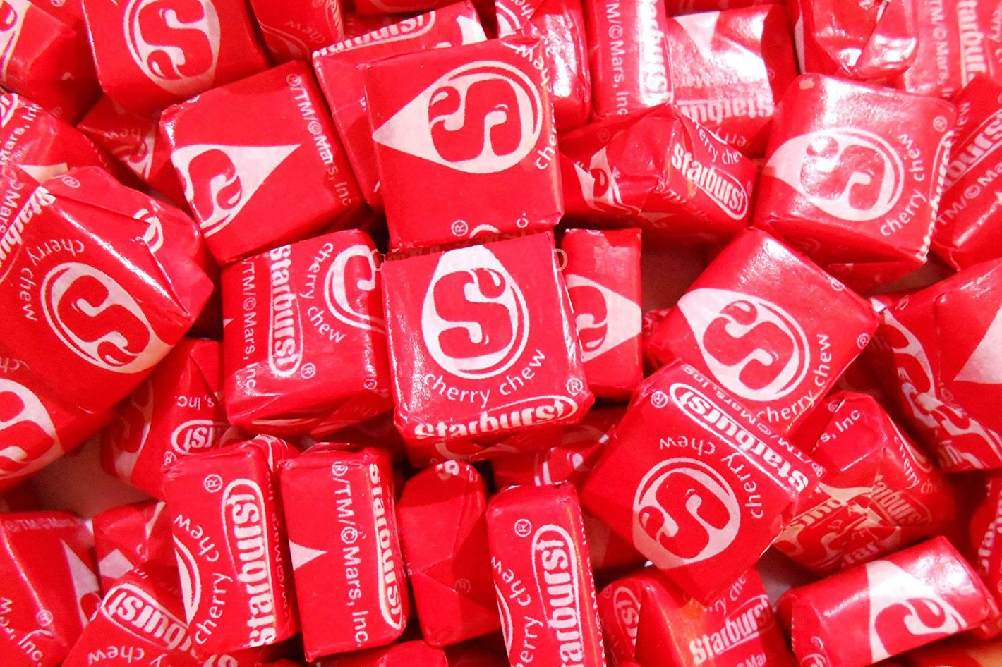 One Pound of Cherry Red Starbursts