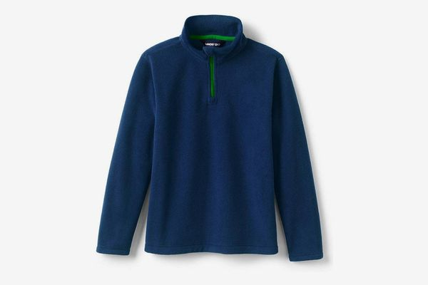 Lands' End Little Kids Fleece Quarter Zip