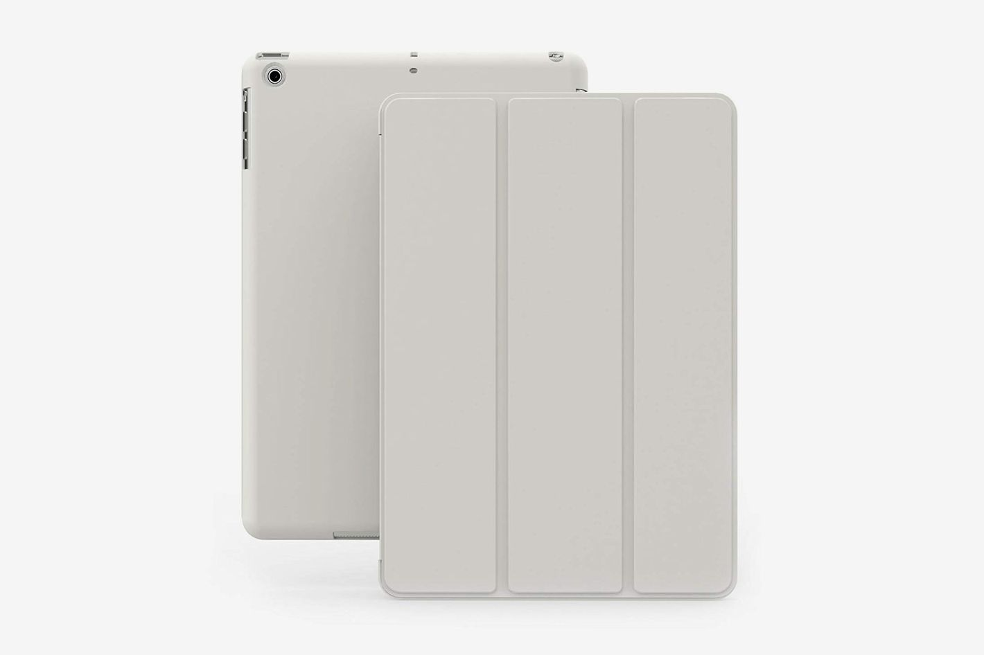 Khomo iPad Mini 1 2 3 Case — DUAL Series — ULTRA Slim White Cover