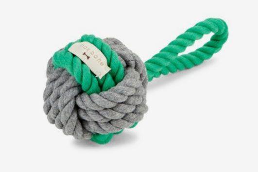 Max-Bone Hobie Ball Rope Toy